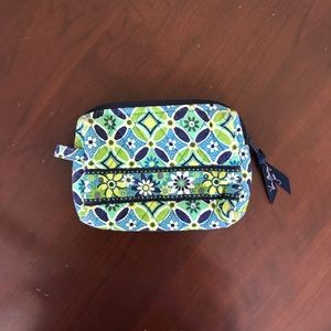 Vera Bradley small cosmetic bag